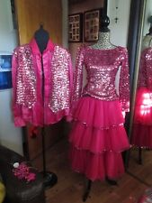 Spectacular Couples Dancing With The Stars Costume SEE PICS Custom Made Slender