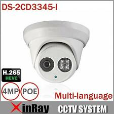 Hikvision DS-2CD3345-I 4MP EXIR Turret IR IP66 Outdoor POE Dome Camera 4mm