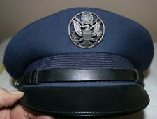 Vintage Bancroft Usaf Air Force Crusher Service Cap - Size 7 1/4 - Ex
