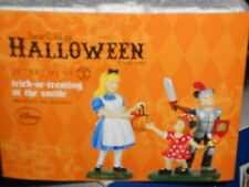 Dept 56 Halloween Accessory Trick Or Treating At The Castle Nib