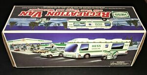 Hess Truck 1998 RV with Dune Buggy and Motorcycle ~ Mint-in-Box