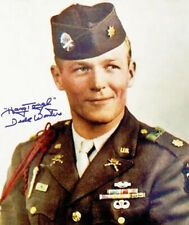 MAJOR DICK WINTERS SIGNED PHOTO 8X10 RP AUTOGRAPHED ** BAND OF BROTHERS **