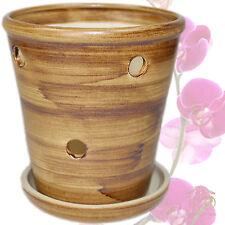 Orchideentopf  Orchideen-Topf - Keramik - Blumentopf Pflanztopf Orchideengef�