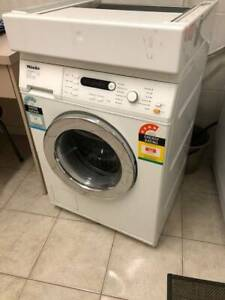 MIELE HONEYCOMB  W3725 FRONT LOAD WASHING MACHINE  + DRYER STACKER