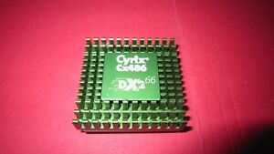 RARE 486 OverDrive CPU Cyrix Cx486 DX2-66 DX266 5V overdrive with 8K cache