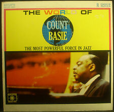 LP COUNT BASIE - The World of , plupart Powerful Force en Jazz, NM