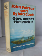 Oars Across the Pacific - 8,000 Miles by Rowing Boat HB DJ Illustrated 1972