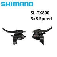 Shimano TOURNEY ST-TX800 3/8/24 Speed Shifter Set Lever For MTB Bike EF51 EF56