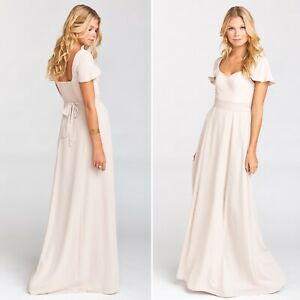 Show Me Your Mumu Marie Sweetheart Maxi Bridesmaid Dress Size XS
