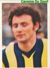 200 TURHAN CEMIL FENERBAHCE TURKEY STICKER FOOTBALL 1980 BENJAMIN RARE NEW