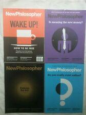 BULK LOT 4 NEW PHILOSOPHER MAGAZINES