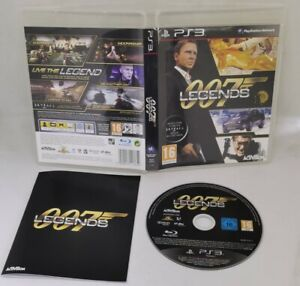 PS3 007 Legends Sony PlayStation 3 2012 VGC FAST FREE POST