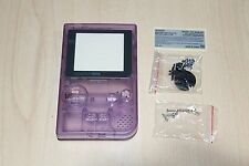 Clair Violet Gameboy Pocket New Shell Replacement Housing Case Nintendo