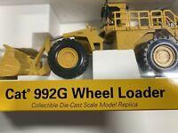 Norscot-55115  Caterpillar- 992G Wheel Loader  1/50 scale  Kids
