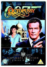 OCTOPUSSY ULTIMATE EDITION ROGER MOORE AS JAMES BOND 2 DISC DVD NEW AND SEALED