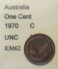 1970 Australia 1c One Cent UNCIRCULATED FROM MINT SET