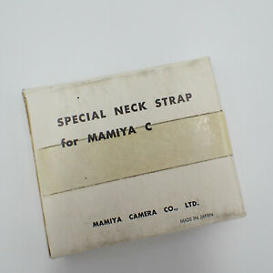"""Mamiya C Special Neck Strap Leather Made in Japan  54"""" Long  C49242"""