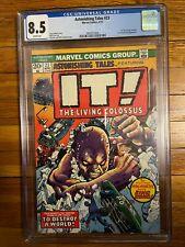 Astonishing Tales #23 (1974) - 2ND FIN FANG FOOM (Marvel Shang-Chi) CGC 8.5