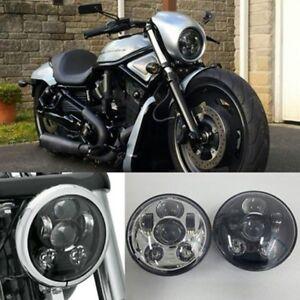 "5.75"" LED Daymaker Headlight for Harley Davidson Breakout, Sportster & Roadster"