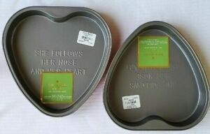 KATE SPADE ALL IN GOOD TASTE CAKE BAKING PAN:NWT SCALLOP, HEART,LOAF (see notes)