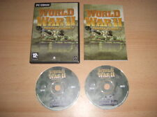 WORLD WAR II - Panzer Claws 2 Pc Cd Rom FAST DISPATCH
