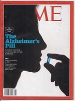 TIME magazine-feb 22/feb 29,2016-THE ALZHEIMER'S PILL.