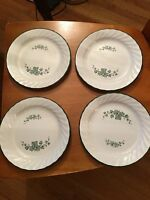 "Corelle Pyrex Serving Plates (4) 7""Dinnerware"