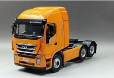 New style 1/24 IVECO Jie Shi Hongyan GENLVON Tractor Truck Model