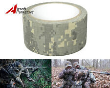 5CMx10M Camouflage Stealth Duct Tape Wrap for Rifle Gun Hunting Camping ACU Camo