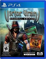 VICTOR VRAN: OVERKILL EDITION (SONY PLAYSTATION 4, 2017) NEW & SEALED
