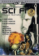 SCI FI TRIPLE FEATURE (DVD, 2005, 3-Disc Set)