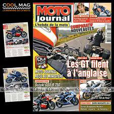 MOTO JOURNAL N°1899 SUZUKI GSX-R 1000 1985 & 2010 BMW R1200 RT KAWASAKI 1400 GTR