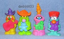 1995 McDonalds Muppet Workshop Complete Set - Lot of 4, Boys & Girls, 3+