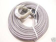 "1/4"" x 120 ft Winch Cable, for Replacement use on POWER WINCH, DL, SUPER WINCH"