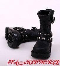 1/3 BJD Shoes/ Boots Supper dollfie SD13/17 Black #S70B-1