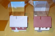 Faller HO 1206 + 1209 Fertigmodell Einfamilienhaus Neu in OVP