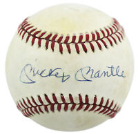 Yankees Mickey Mantle Signed Authentic Oal Baseball Autograph PSA/DNA #S02152
