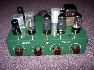 BOGEN Tube Amplifier model DB10-1 U.S.A. Restored Excellent working condition