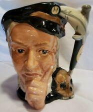 Royal Doulton Lg. Character Toby Jug Hamlet Shakespearean D6672 Excellent