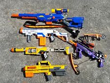 lot 6 Nerf blaster guns Long Strike Deploy CS-6 Retaliator Spectre Avenger Bow