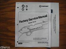 Crosman 761Xl 761 Xl (Pre 1977) Seal Kit With Factory Service Manual & Guide