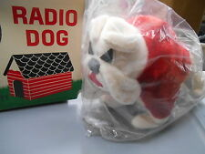 NOS Vintage Novelty Retro Ideal 6 Transistor Range 540-16000 KG Bulldog Radio