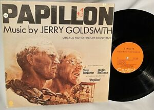 LP SOUNDTRACK Papillon (ORIG Vinyl, ST-11280) JERRY GOLDSMITH NM/EX