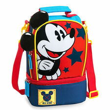 Authentic Disney Mickey Mouse Clubhouse Kids School Lunch Bag Insulated New
