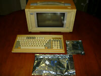 Vintage 1988 Portable PC III Luggable Computer Case Only Parts Repair AS IS