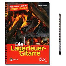 El fuego de campamento-guitarra-lernkurse con CD, música lápiz de plomo-d897 - 4031658008977
