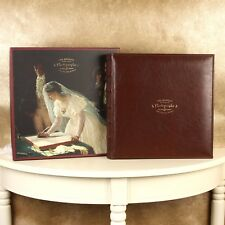 Vintage Design Wedding Photo Album Gift - 40 Interleaved Pages