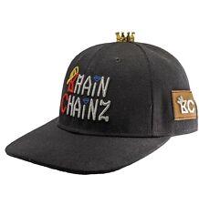 Hip Hop Jewelry Bling Gold Attachable Crown for Men's Baseball Cap BrainChainz
