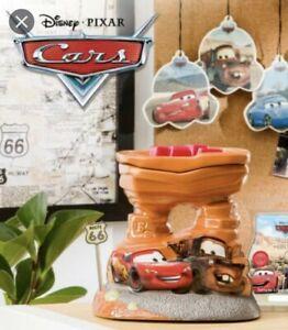 Scentsy Disney CARS 🚘Warmer Lightening McQueen CERAMIC WAX WARMER Pixar