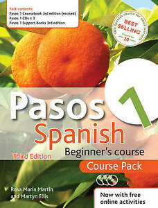Pasos 1 Spanish Beginner's Course: Course Pack by Martyn Ellis, Rosa Maria Mart…